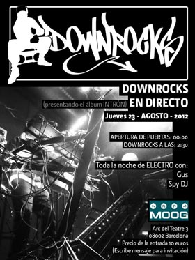 Downrocks Live Moog 2012